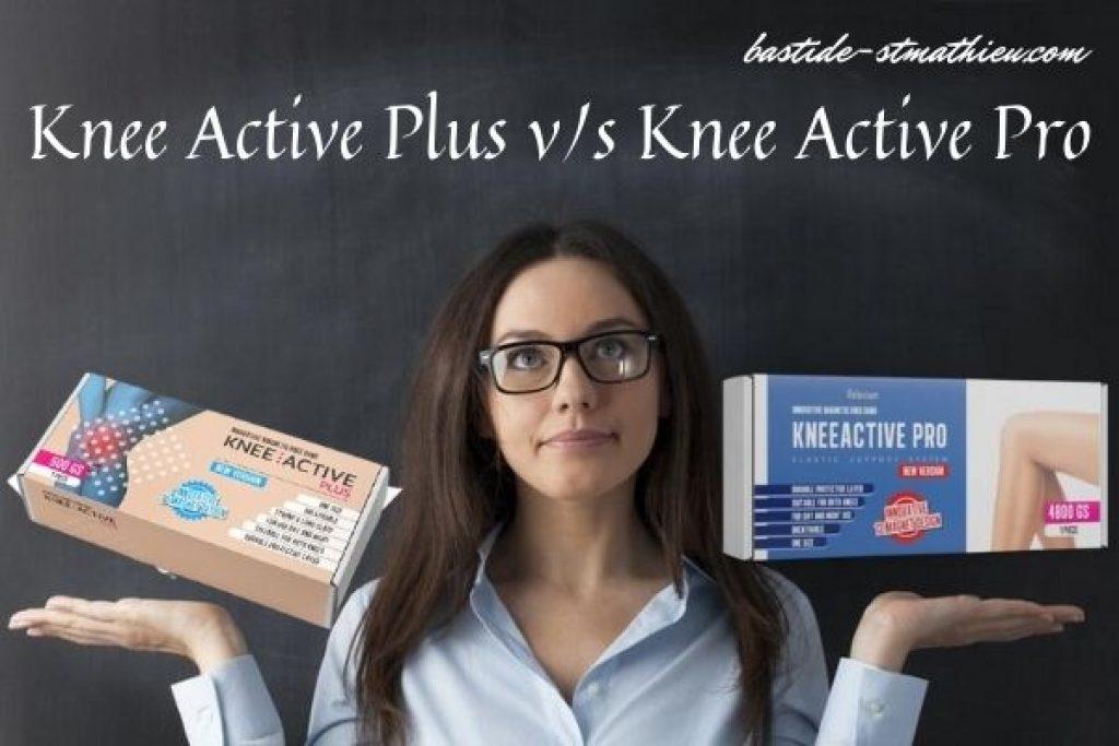 Kakšna je razlika med Knee Active Plus in KneeActive Pro
