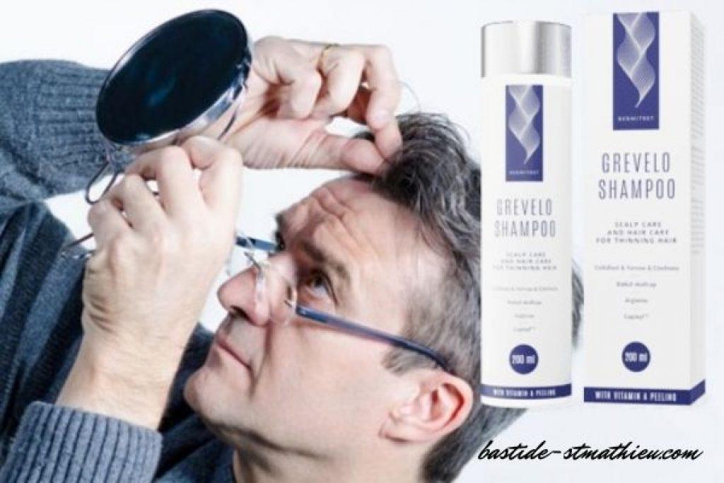 kaj vsebuje grevelo shampoo